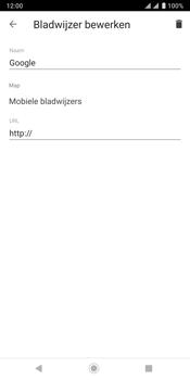 Sony xperia-xz3-dual-sim-model-h9436 - Internet - Hoe te internetten - Stap 12