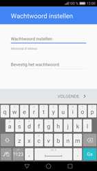 Huawei P9 - Applicaties - Account aanmaken - Stap 11