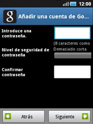 Samsung S5570 Galaxy Mini - Primeros pasos - Activar el equipo - Paso 18