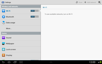 Samsung P5100 Galaxy Tab 2 10-1 - Network - Usage across the border - Step 4