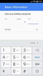 Samsung Galaxy J3 (2017) - Applications - Create an account - Step 8