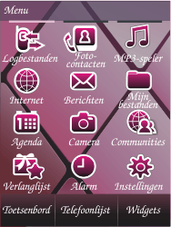 Samsung S7070 Diva - Voicemail - Handmatig instellen - Stap 3