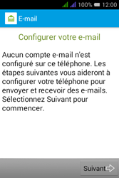 Alcatel Pixi 3 Dual Sim - E-mails - Ajouter ou modifier un compte e-mail - Étape 5