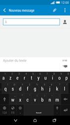 HTC One (M8) - Contact, Appels, SMS/MMS - Envoyer un SMS - Étape 6