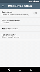 Sony Xperia XZ (F8331) - Android Nougat - Network - Change networkmode - Step 9