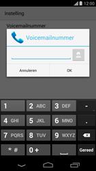 Motorola Moto G - Voicemail - Handmatig instellen - Stap 9