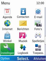 Nokia X2-00 - Internet - Handmatig instellen - Stap 3