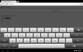 Sony SGP321 Xperia Tablet Z LTE - Internet - navigation sur Internet - Étape 15