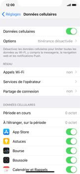 Apple iPhone X - Internet - configuration manuelle - Étape 5