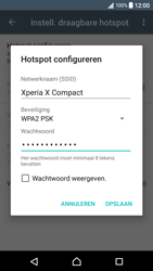 Sony xperia-x-compact-f5321-android-nougat - WiFi - Mobiele hotspot instellen - Stap 9