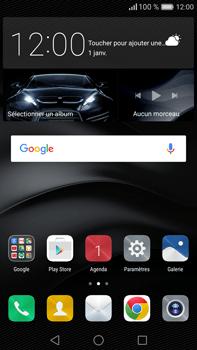 Huawei Mate 8 - Messagerie vocale - Configuration manuelle - Étape 2
