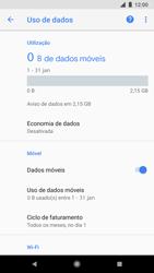 Google Pixel 2 - Rede móvel - Como ativar e desativar uma rede de dados - Etapa 6