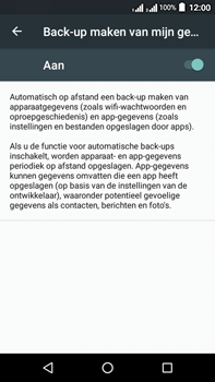Acer Liquid Zest 4G Plus - Device maintenance - Back up - Stap 9