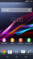 Sony Xperia Z1 - Bluetooth - Conectar dispositivos a través de Bluetooth - Paso 1