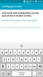 Samsung G530FZ Galaxy Grand Prime - Email - Como configurar seu celular para receber e enviar e-mails - Etapa 10