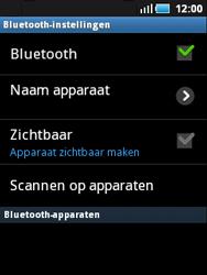 Samsung S5570 Galaxy Mini - Bluetooth - koppelen met ander apparaat - Stap 8