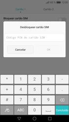 Huawei P9 Lite - Segurança - Como ativar o código PIN do cartão de telemóvel -  8