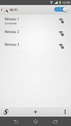 Sony D2303 Xperia M2 - Wifi - configuration manuelle - Étape 7