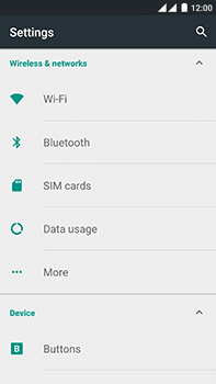 OnePlus 2 - WiFi and Bluetooth - Manual configuration - Step 4
