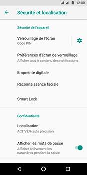 Motorola Moto G6 - Sécuriser votre mobile - Activer le code de verrouillage - Étape 13