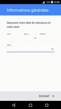 Sony Xperia Z5 Premium (E6853) - Android Nougat - Applications - Créer un compte - Étape 9