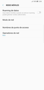 Samsung Galaxy Note 8 - Red - Seleccionar una red - Paso 6