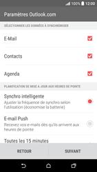 HTC Desire 530 - E-mails - Ajouter ou modifier votre compte Outlook - Étape 9