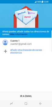 Samsung Galaxy S8 - E-mail - Configurar Gmail - Paso 15