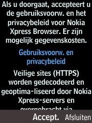 Nokia 225 (Type RM-1012) - Internet - Hoe te internetten - Stap 3