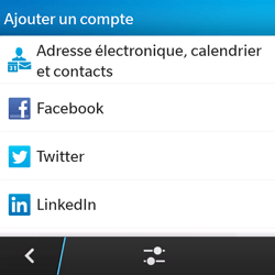 BlackBerry Q5 - E-mail - Configurer l