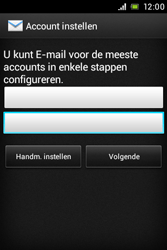 Sony Xperia E (C1505) - E-mail - Handmatig instellen - Stap 7