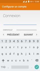 Crosscall Trekker M1 Core - E-mails - Ajouter ou modifier votre compte Outlook - Étape 8