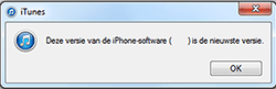 Apple iPhone 4 met iOS 7 - Software - Update installeren via PC - Stap 6