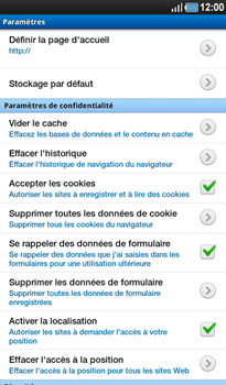 Samsung P1000 Galaxy Tab - Internet - Configuration manuelle - Étape 14