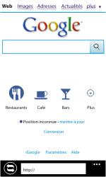 Samsung I8350 Omnia W - Internet - navigation sur Internet - Étape 8