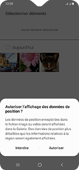 Samsung Galaxy A20e - MMS - envoi d'images - Étape 17