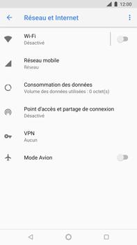 Nokia 8 Sirocco - Wifi - configuration manuelle - Étape 4