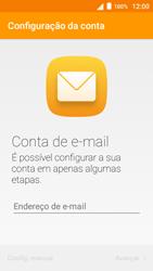 Alcatel Pop 3 - Email - Configurar a conta de Email -  8