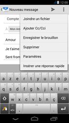 Acer Liquid Jade - E-mail - Envoi d