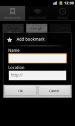 Google Nexus S - Internet - Internet browsing - Step 8