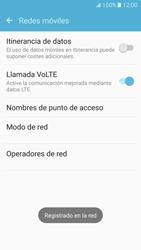 Samsung Galaxy S7 - Red - Seleccionar una red - Paso 10