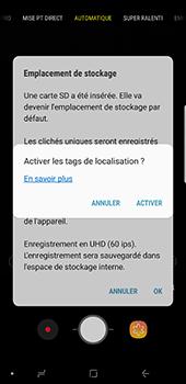 Samsung Galaxy Note 9 - Photos, vidéos, musique - Créer une vidéo - Étape 4