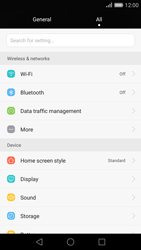 Huawei P8 - MMS - Manual configuration - Step 4