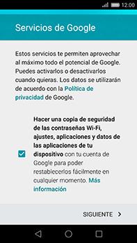 Huawei GX8 - E-mail - Configurar Gmail - Paso 14