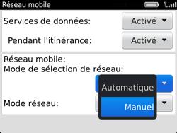 BlackBerry 9720 Bold - Réseau - Utilisation à l
