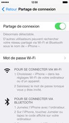 Apple iPhone 5c - Internet et connexion - Partager votre connexion en Wi-Fi - Étape 9