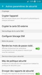 Samsung Galaxy J3 (2016) - Sécuriser votre mobile - Personnaliser le code PIN de votre carte SIM - Étape 6