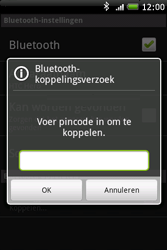 HTC A6262 Hero - Bluetooth - Headset, carkit verbinding - Stap 8