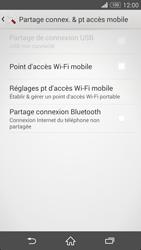 Sony Xpéria Z3 - Internet et connexion - Partager votre connexion en Wi-Fi - Étape 6