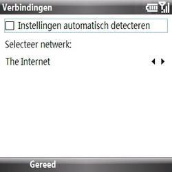 Samsung B7330 Omnia Pro - Internet - handmatig instellen - Stap 14